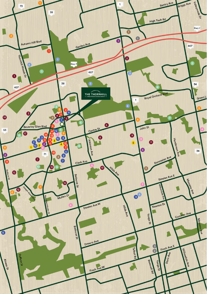 Thethornhill Location Map