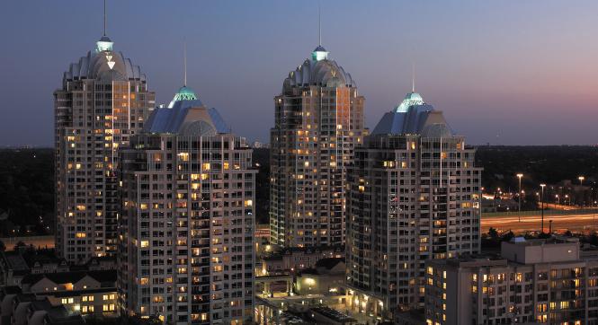 NY towers community, Toronto